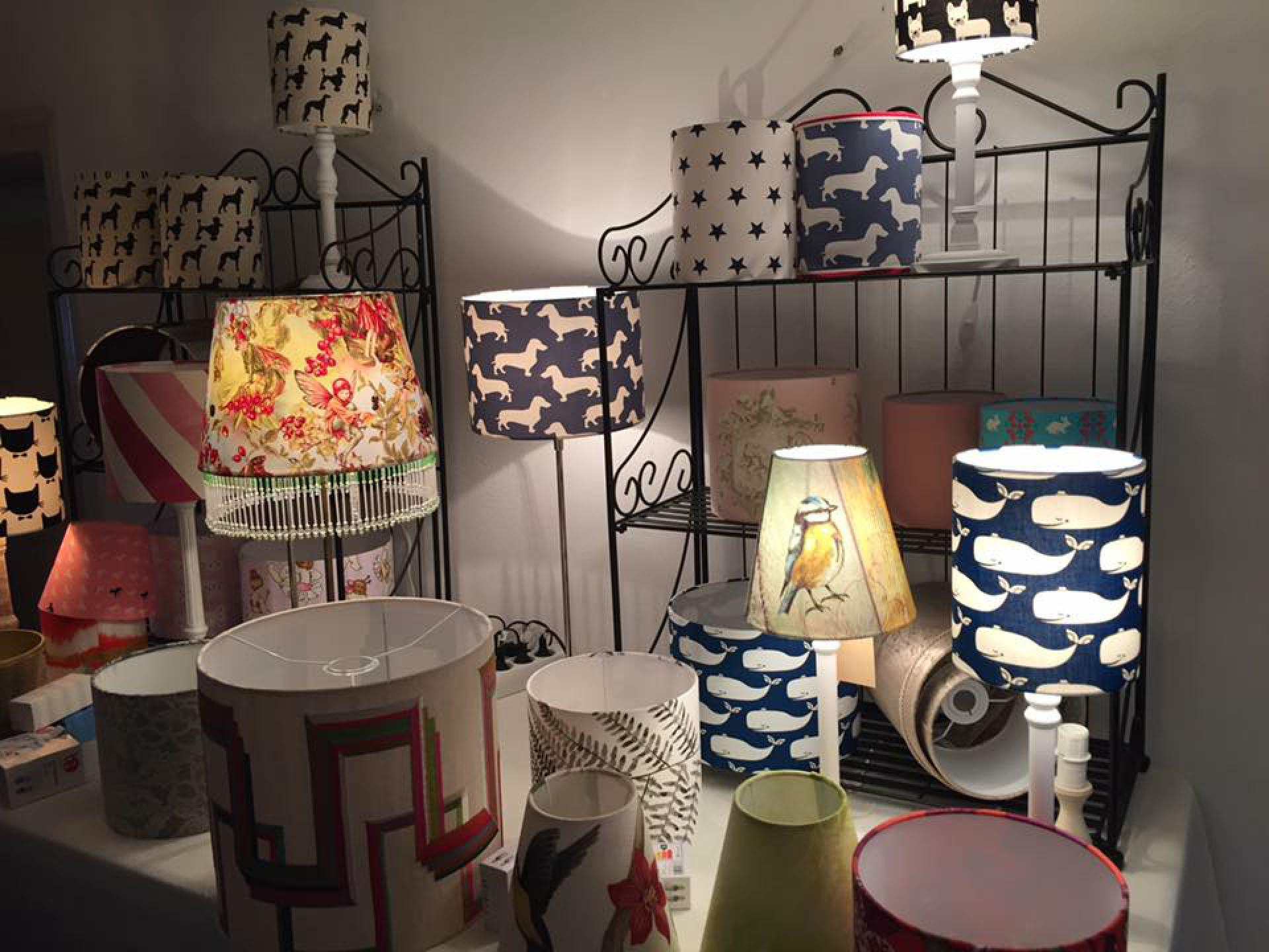 Lampenschirme von Viktoria Zitttwitz