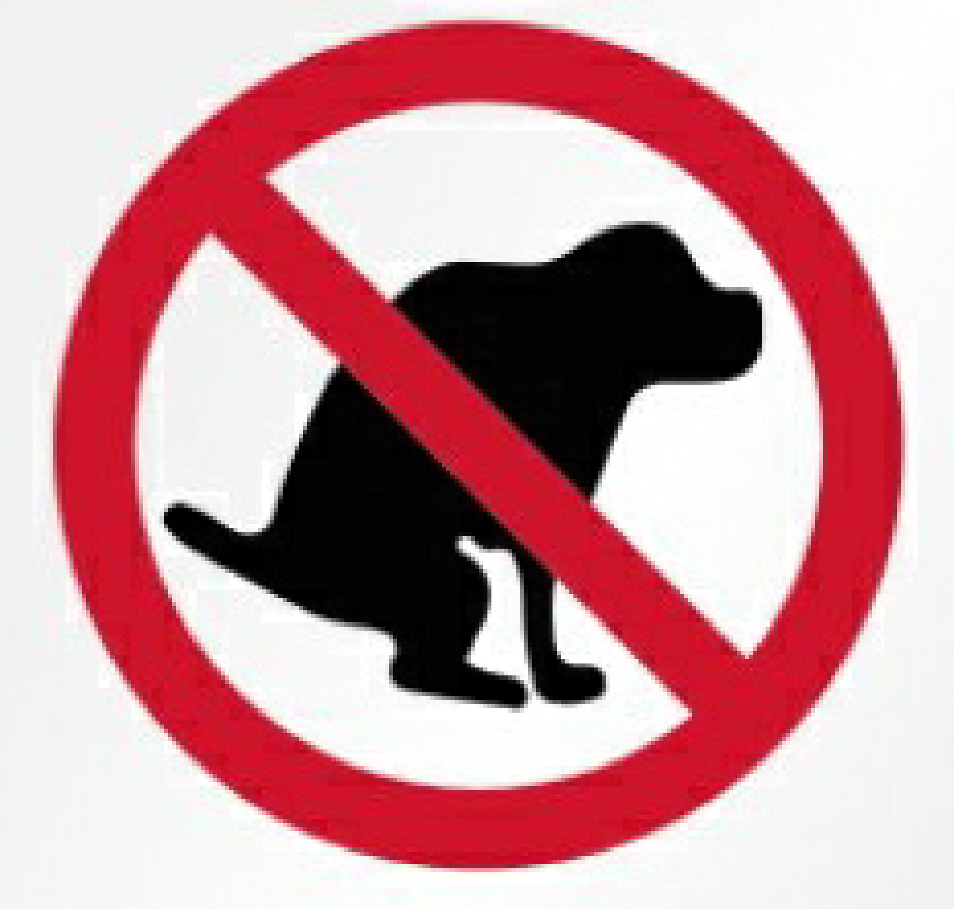 No-Dog-Pooping-Sign